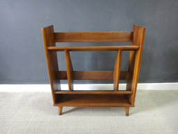 additional images for Mid Century Wood Book Stand/Shelf