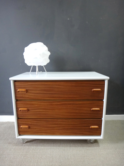 additional images for Danish Modern Style Chest on Wheels
