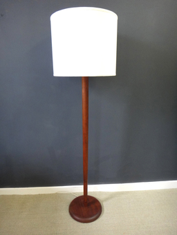 additional images for Mid Century Tapered Wood Floor Lamp