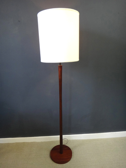 additional images for Mid Century Wood Standing Lamp