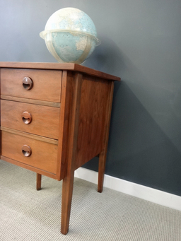 additional images for Danish Modern Style Walnut Desk