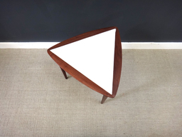 additional images for Petit Mid Century Triangular End Table