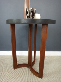 additional images for Round Teak Side Table