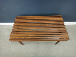 additional images for Wood Slat Coffee Table/Bench