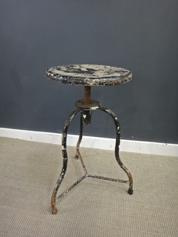 additional images for Industrial Metal Stool