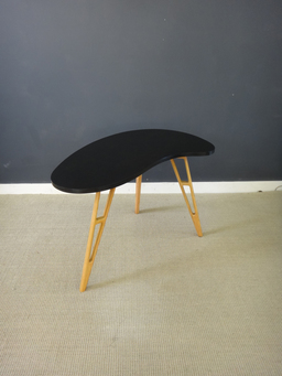 additional images for Mid Century Kidney Shaped End Table