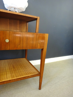 additional images for Mid Century Walnut Side Table