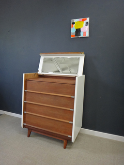 additional images for Re-Envisioned Mid Century Bureau/Vanity