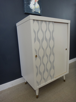 additional images for Stencilled Cabinet