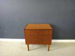 additional images for  3-Drawer Petite Teak Chest