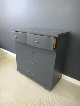 additional images for Painted Mid Century Bureau