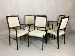 SALE  Set of Six Rosewood Dining Chairs by Dyrlund