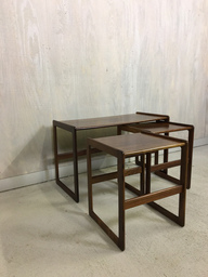 SALE  Hovemand Olsen Rosewood Nesting Tables