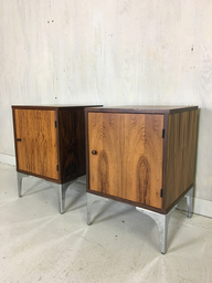 Danish Modern Rosewood Nightstands