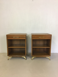 Pair of Rway Mahogany Bedside Tables