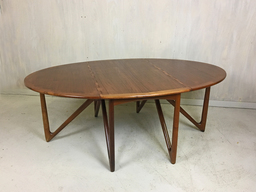 Danish Modern Kurt Ostervig Teak Spider Table