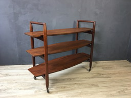 TH RobsjohnGibbings Walnut Trolley Bar Cart for Widdicomb