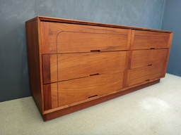 On Sale  Mid Century Teak Lowboy Bureau