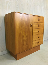 Danish Modern Teak Gentleman039s Chest