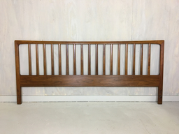 King Size Danish Modern Teak Headboard