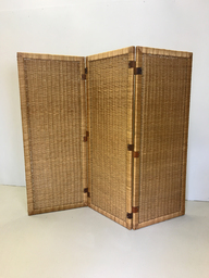 Mid Century Wicker Screen