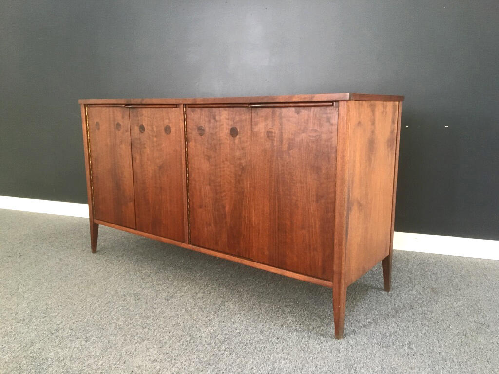 Walnut Credenza with Rosewood Inlay